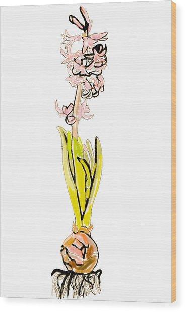 Hyacinth  Wood Print