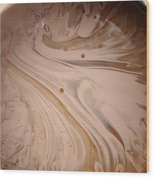Hydro Magnito Meat Raisin Wood Print