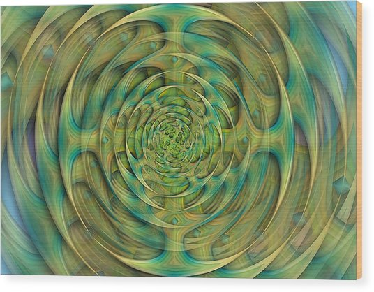 Hypnosis Wood Print