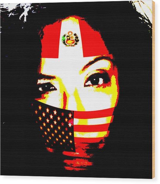 I Am An Immigrant Wood Print