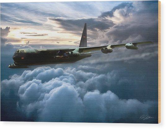 I Am Legend B-52 Wood Print