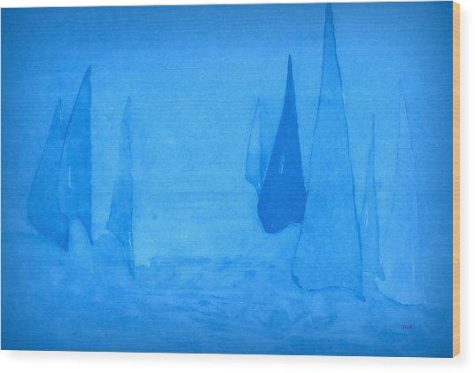 I Am Sailing 2 Wood Print