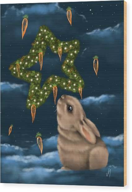I Can Smell The Christmas In The Air Wood Print