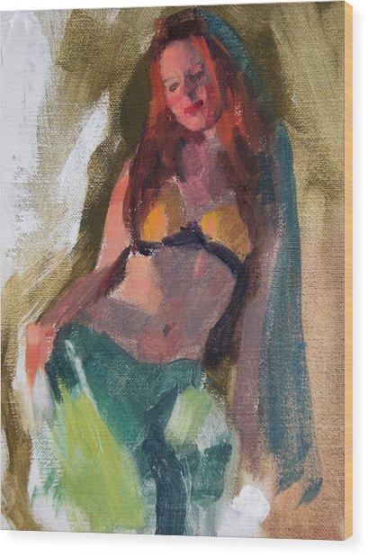 I Dream Of Genie Wood Print by Merle Keller