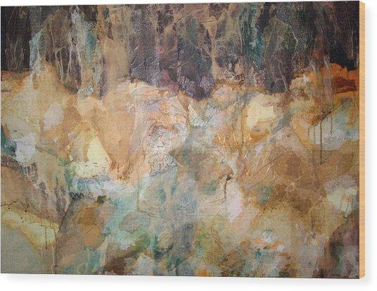 I Remember Wood Print by Carol Everhart Roper