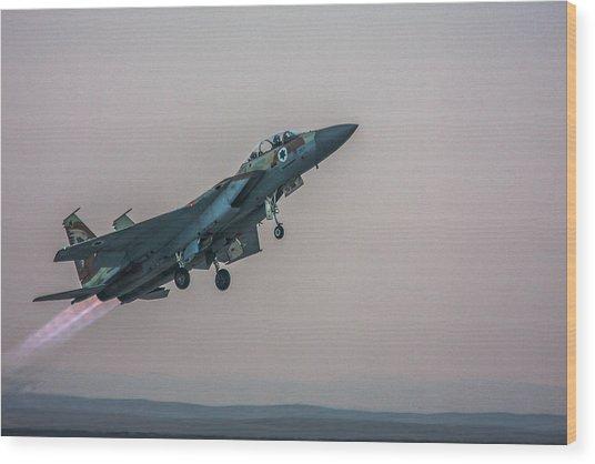 Iaf F-15i Ra'am Wood Print