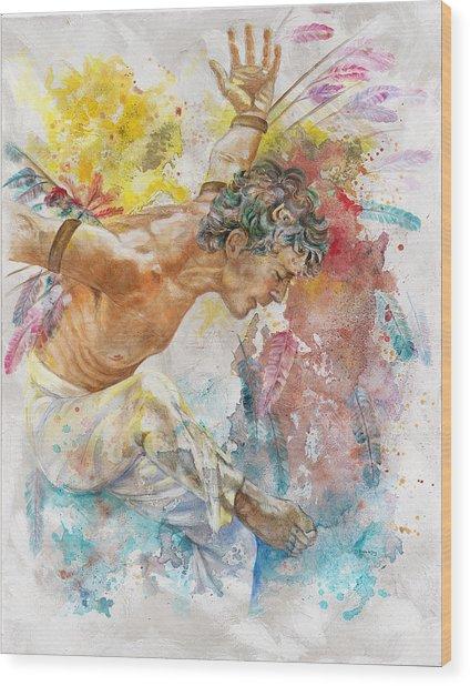 Icarus Wood Print by Rineke De Jong