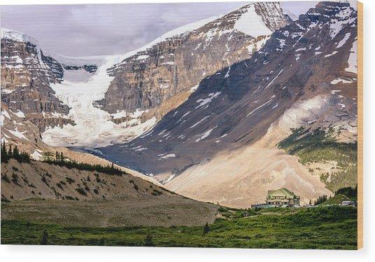 Icefields Parkway Wood Print
