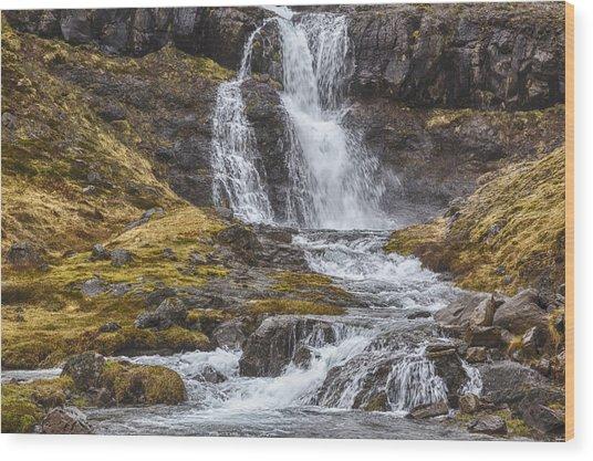 Iceland Fjord 2 Wood Print