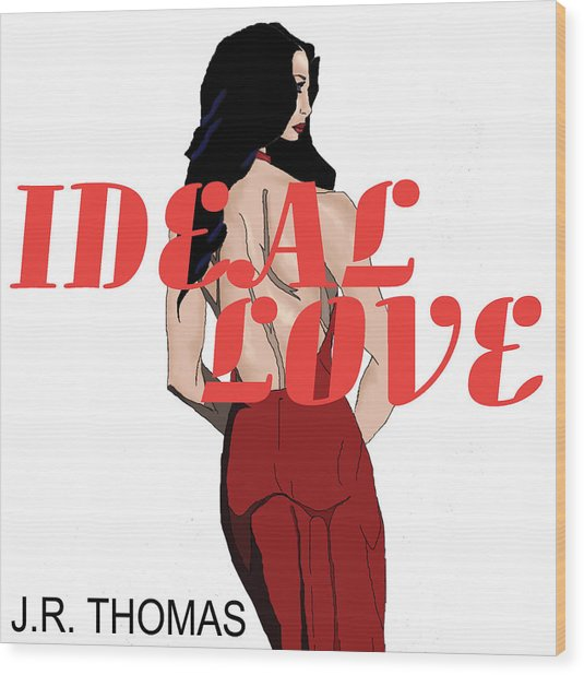 Wood Print featuring the digital art Ideal Love Cover by Jayvon Thomas