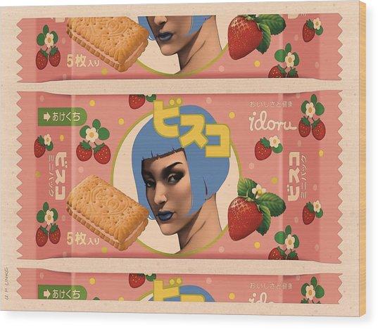 Idoru Sweets Wood Print