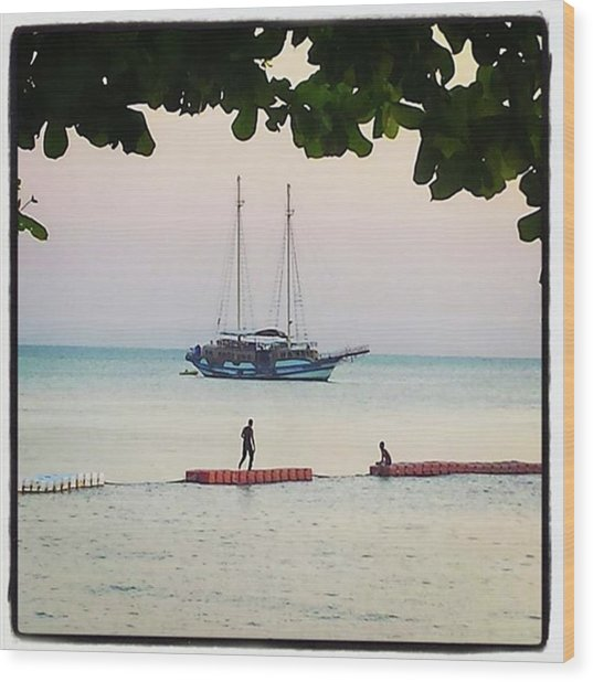 Wood Print featuring the photograph Idyllic Setting To Idle The Time Away by Mr Photojimsf