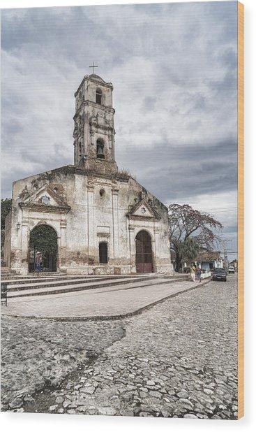Iglesia De Santa Ana Wood Print