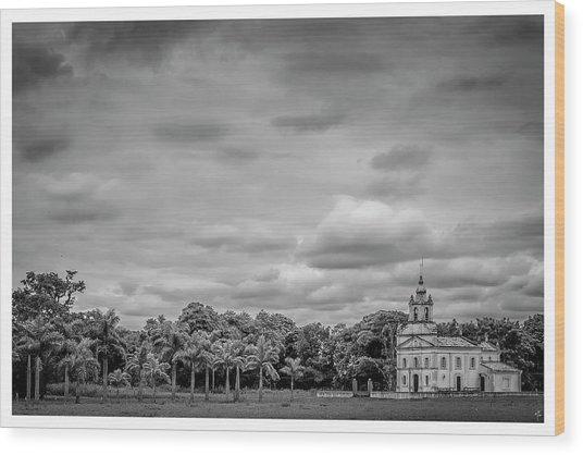 Igreja-pindamonhangaba-sp Wood Print
