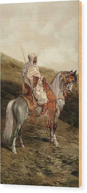 Il Cavaliere Wood Print
