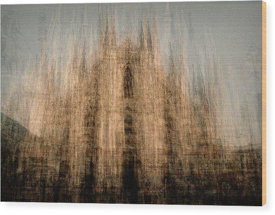 Il Duomo Di Milano Wood Print by Denis Bouchard
