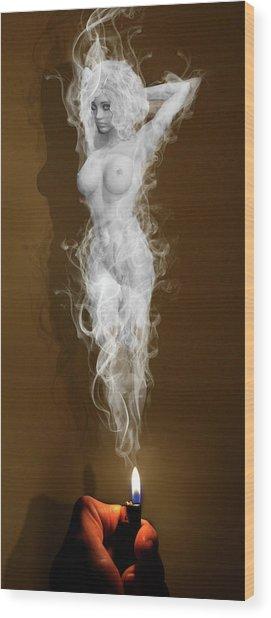 Illusion Of The Mind Wood Print