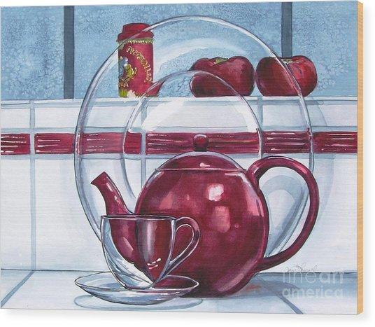I'm A Little Teapot Wood Print