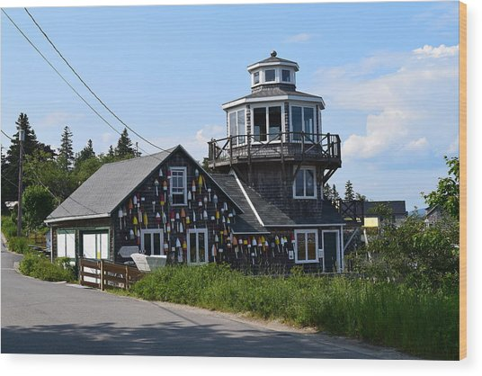 Images Of Maine 4 Wood Print
