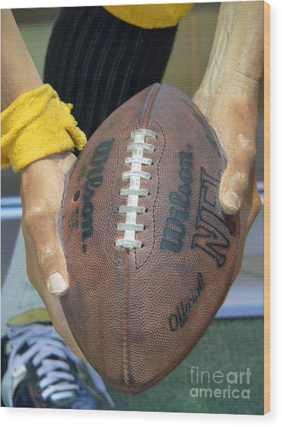 Immaculate Reception Wood Print