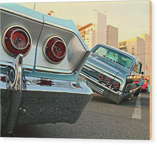 Impala Low-riders Wood Print