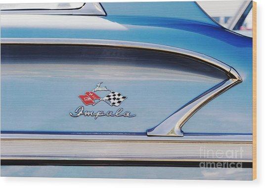 Impala Style Wood Print by Tim Gainey