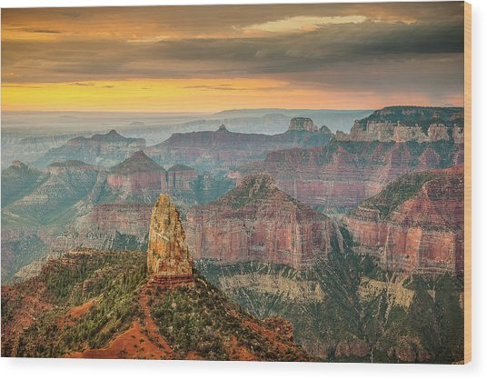 Imperial Point Grand Canyon Wood Print