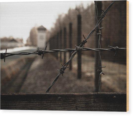 Imprisoned Wood Print