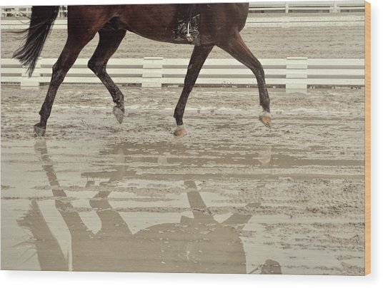 Impulsion Mirrored Wood Print by JAMART Photography