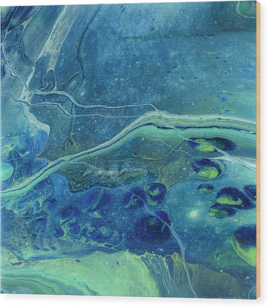 In Depths Unknown Wood Print