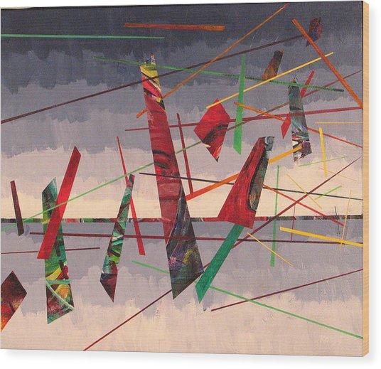 In Flight Wood Print by Rollin Kocsis