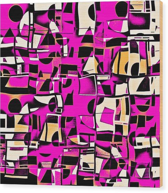 In Medias Res Iv Wood Print