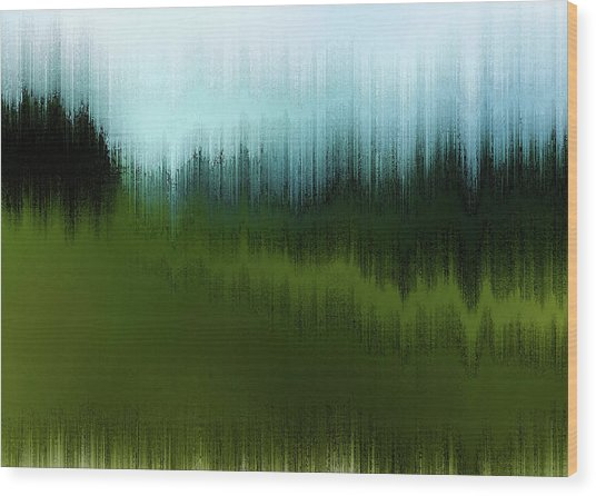 In The Black Forest Wood Print