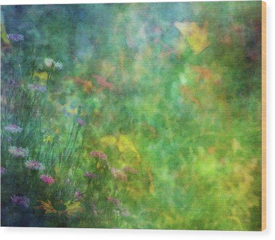 In The Garden 2296 Idp_2 Wood Print