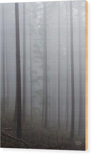In The Mood Wood Print