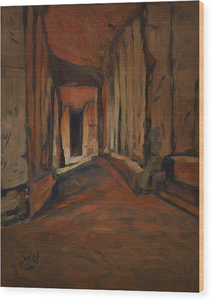 l'Origine de Maestricht Sint Pieter Maastricht  Wood Print