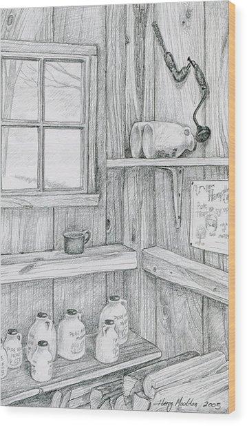 In The Sugar House Wood Print