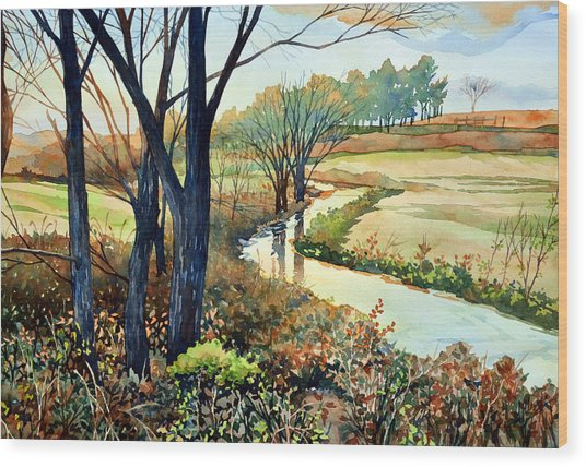 In The Wilds Wood Print