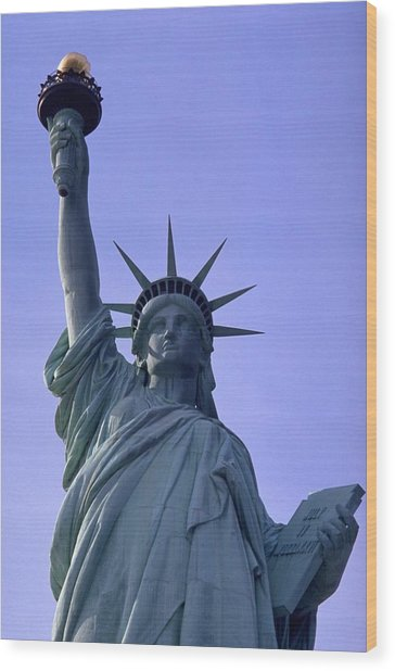 Wood Print featuring the photograph Independence Day Usa by Travel Pics