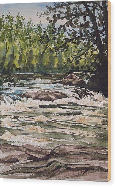 Indian River Ny 2 Wood Print