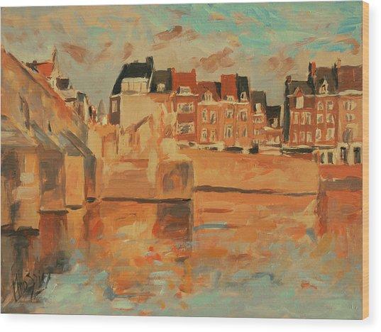 Indian Summer Light Maastricht Wood Print