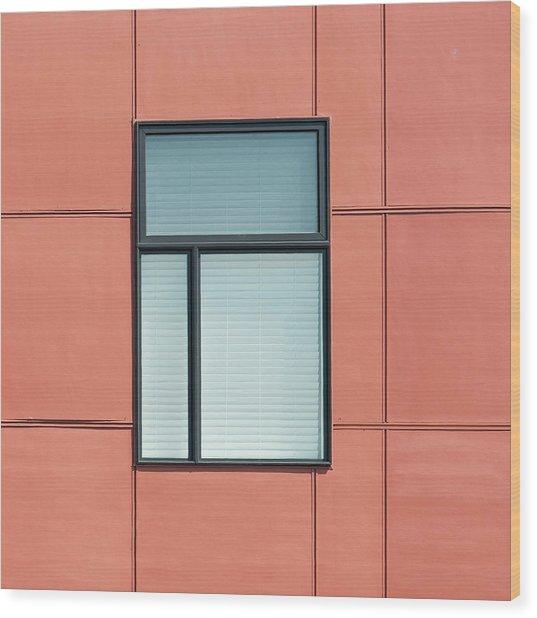 Indiana Windows 5 Wood Print