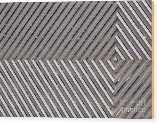 Industrial Diamonds Wood Print