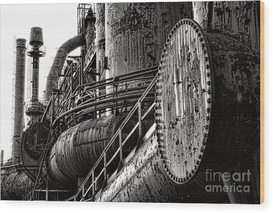 Industrial Heritage Wood Print