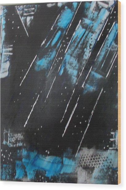 Inner Flight Wood Print