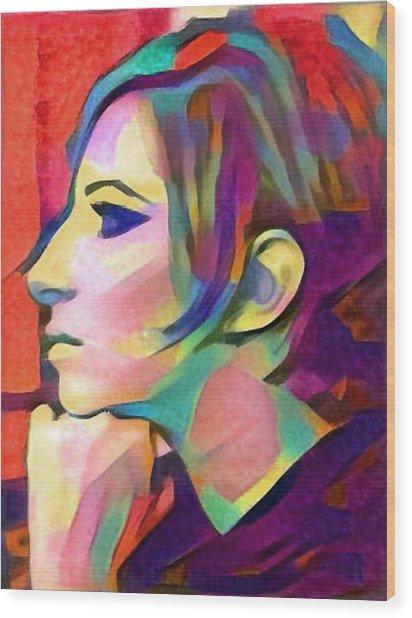 Inner Vision Wood Print
