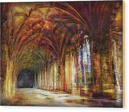 Inside 2 - Transit Wood Print
