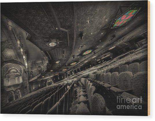 Inside Fox Theater Wood Print