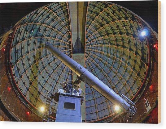 Inside Lick Observatory Wood Print