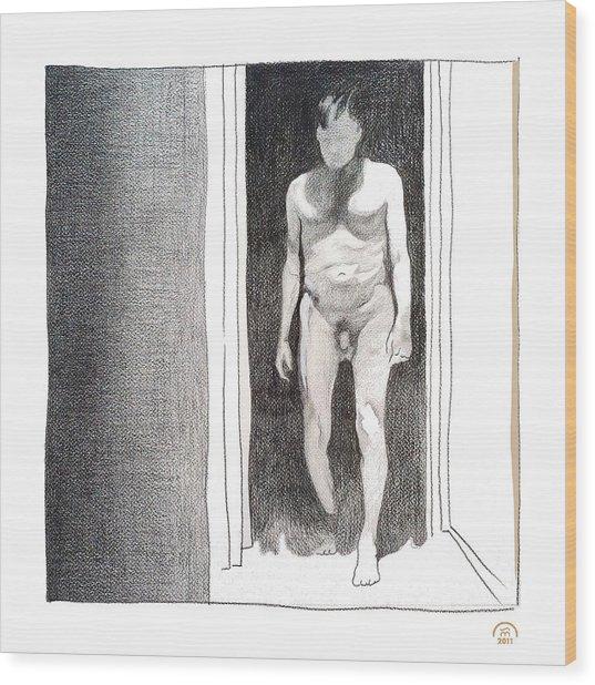 Insomnia 4 Wood Print